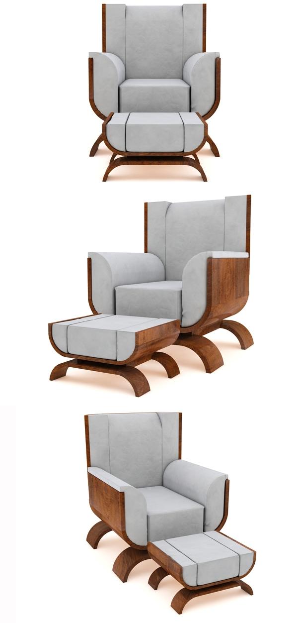 UULMA幼儿园家具-采用木制品,皮革,亚麻作为材料-反映了本世纪中叶现代风格的家具收藏。封面大图