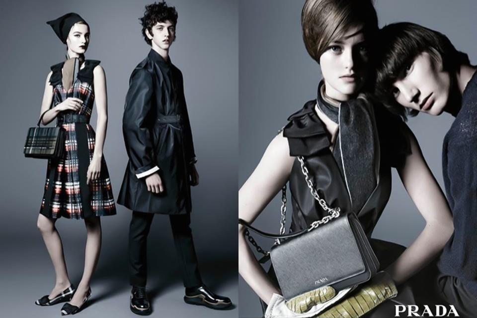 普拉达时尚品牌平面广告---酷图编号1128657