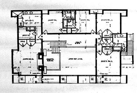 视觉艺术家保罗再现鲁道夫米拉姆住宅房子-在佛罗里达州,根据保罗・鲁道夫基金会设计,内壁采用光滑铸砂色的混凝土块为材料,不但节约成本还环保---酷图编号1138921