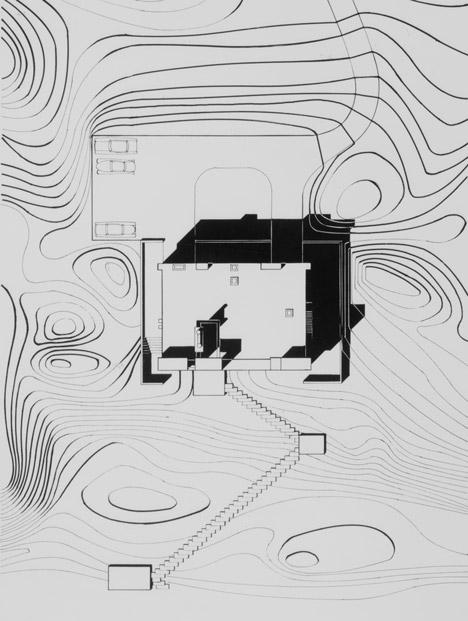 视觉艺术家保罗再现鲁道夫米拉姆住宅房子-在佛罗里达州,根据保罗・鲁道夫基金会设计,内壁采用光滑铸砂色的混凝土块为材料,不但节约成本还环保---酷图编号1138925