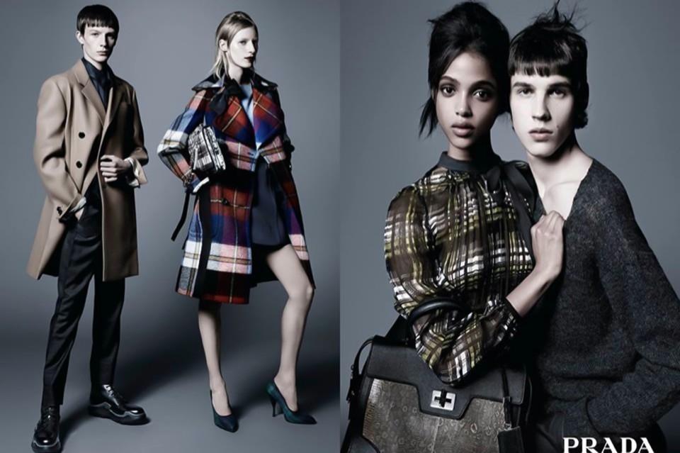 普拉达时尚品牌平面广告封面大图
