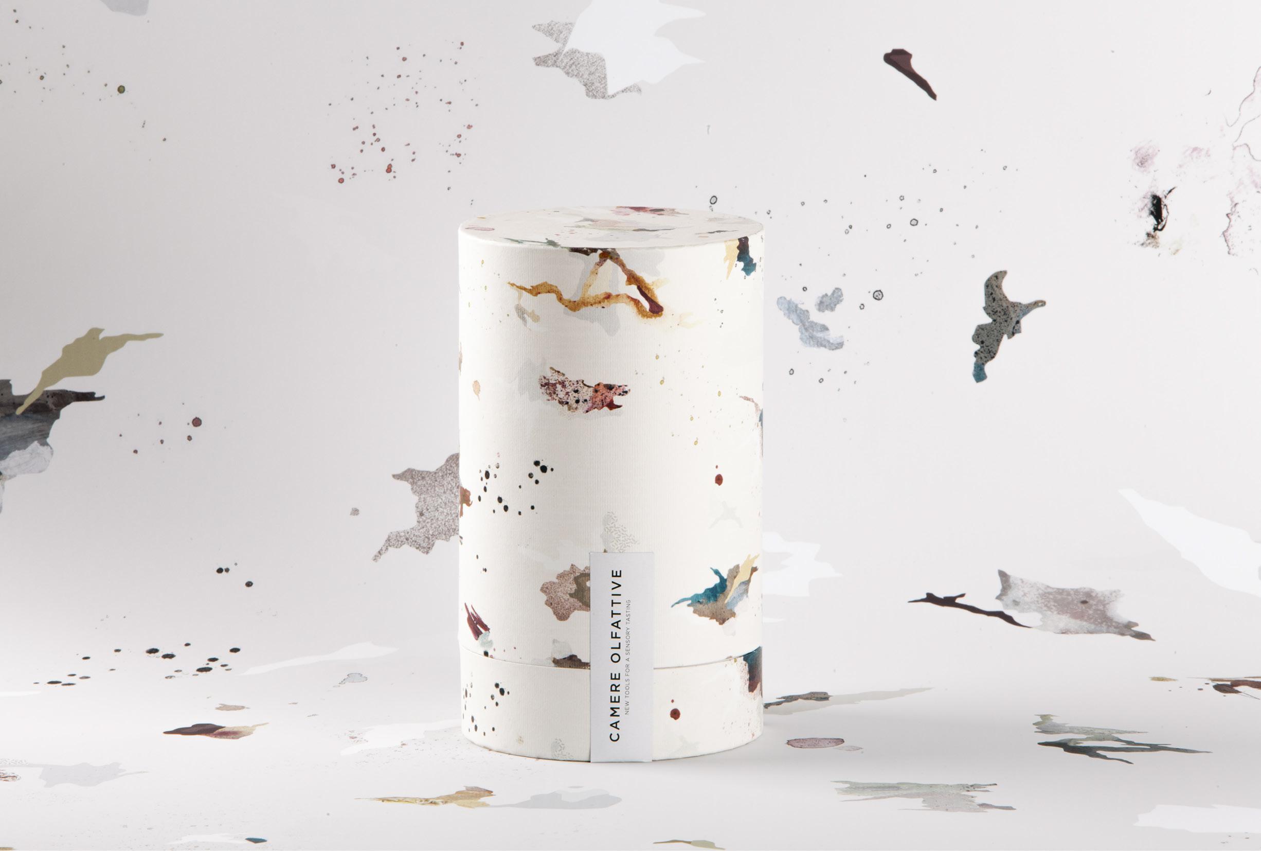 Packaging Camere Olfattive-包装可以识别一些香味醋,雾化油,酒和威士忌污渍---酷图编号1199407