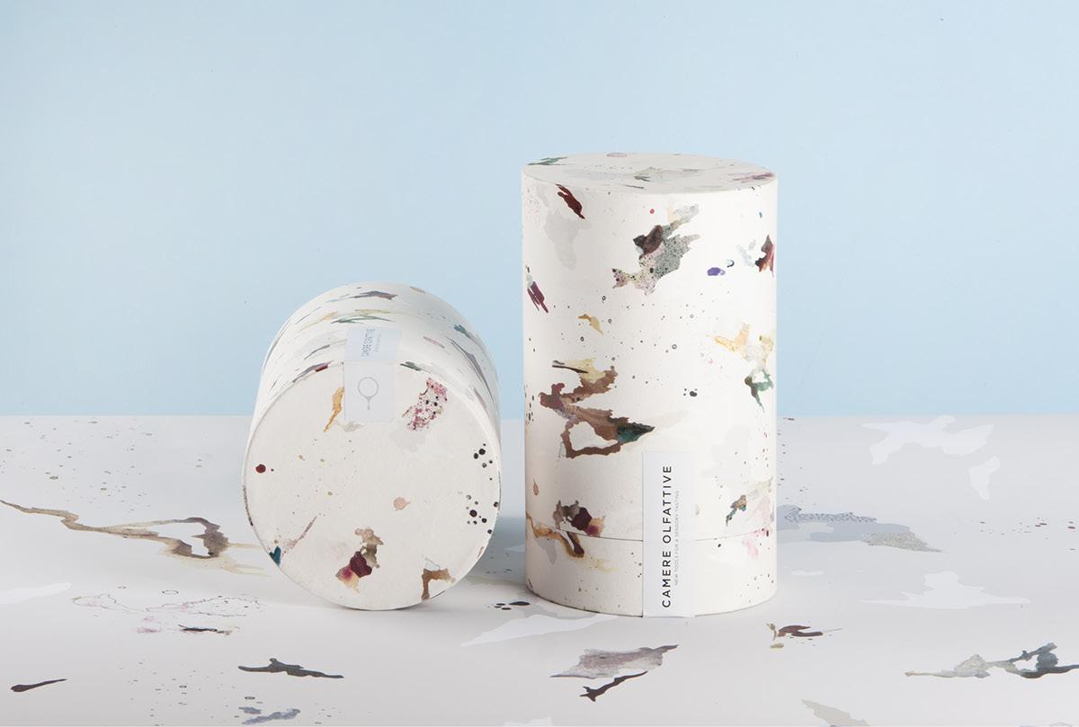 Packaging Camere Olfattive-包装可以识别一些香味醋,雾化油,酒和威士忌污渍---酷图编号1199408