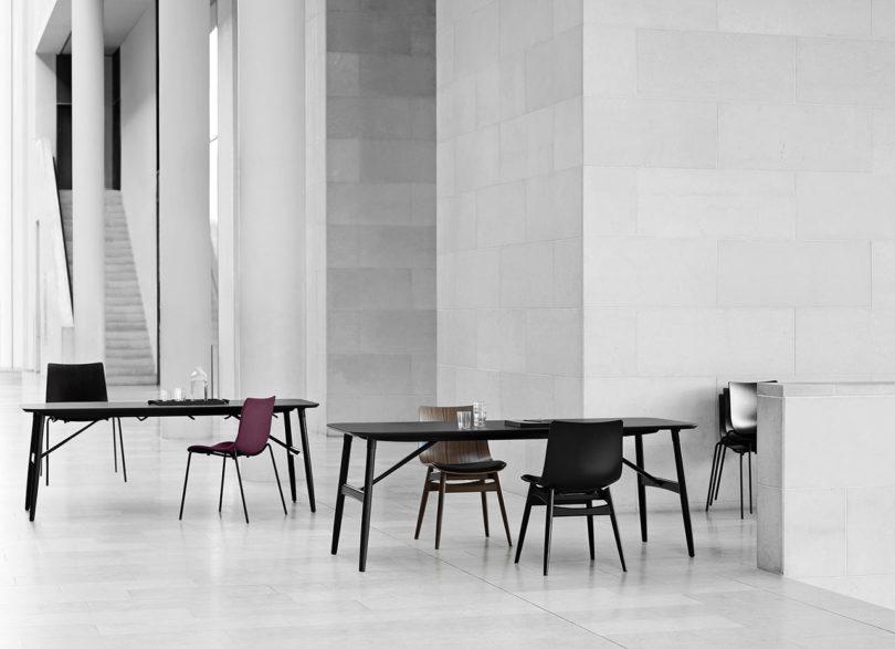 传奇的丹麦品牌Carl Hansen&Søn第一次与美国设计师Brad Ascalon合作发布了110年历史上的椅子---酷图编号1210875