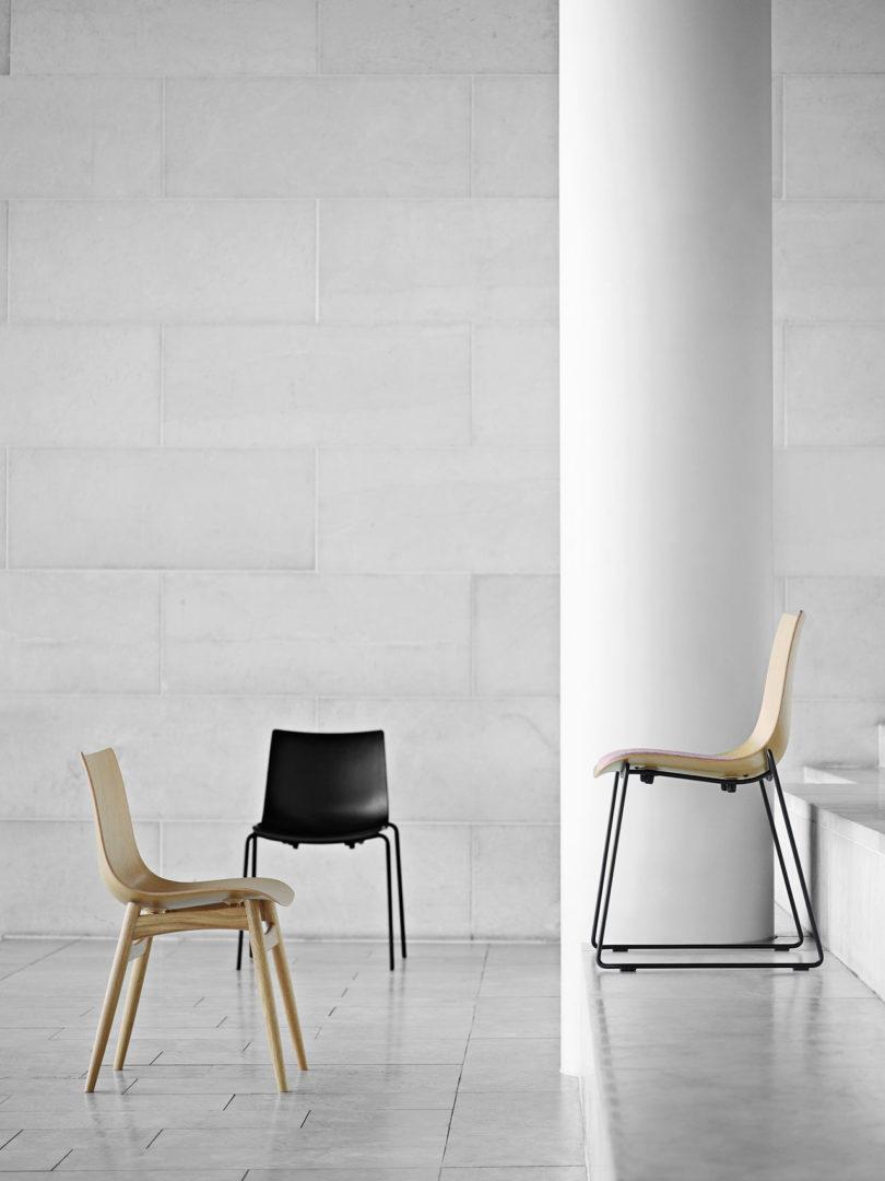传奇的丹麦品牌Carl Hansen&Søn第一次与美国设计师Brad Ascalon合作发布了110年历史上的椅子---酷图编号1210884
