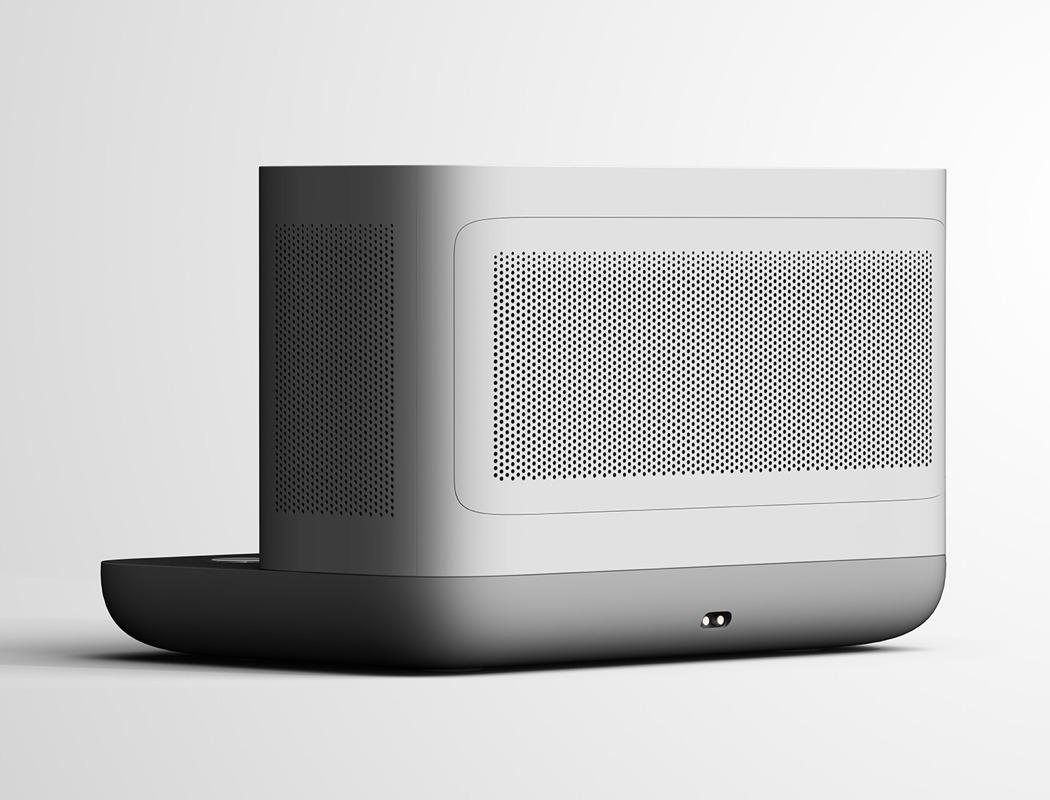 一个时尚的无线充电器-也是一台节省空间的空气净化器---酷图编号1259137