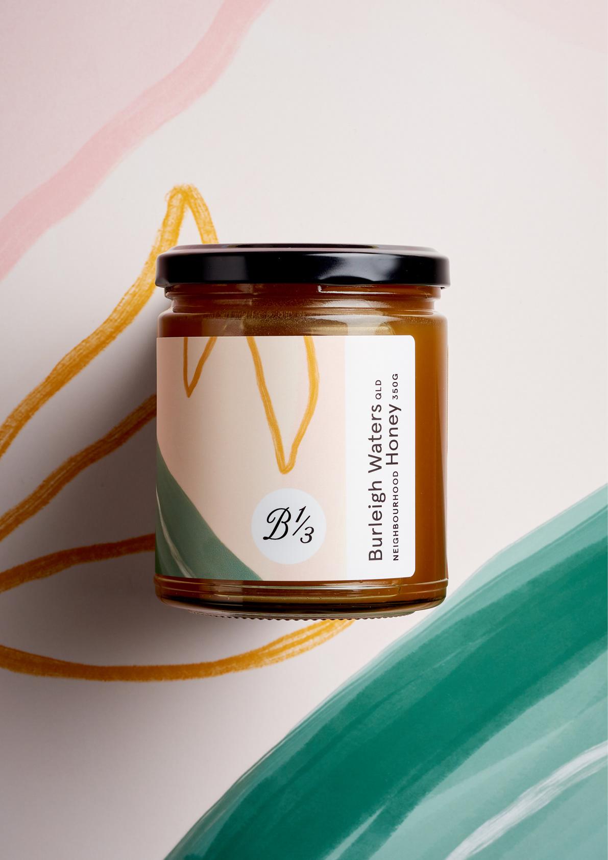 澳大利亚Bee One Third蜂蜜包装设计---酷图编号1282400