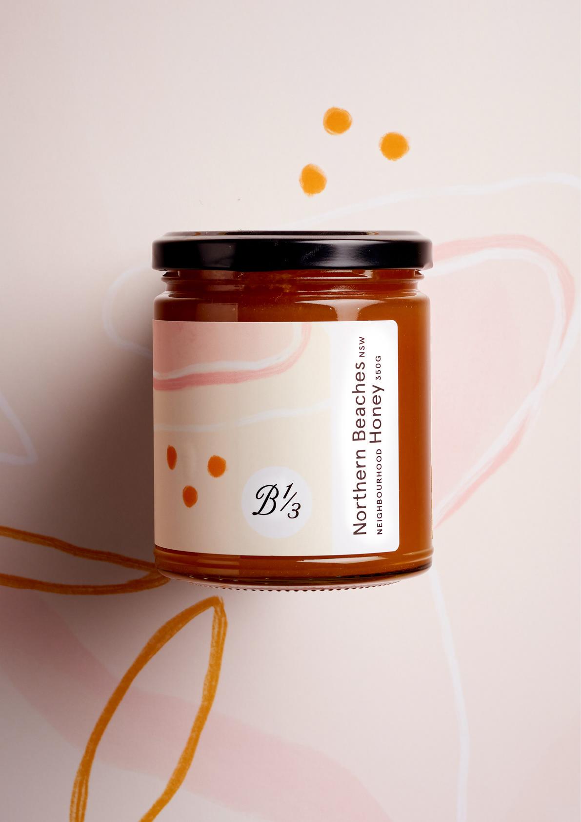 澳大利亚Bee One Third蜂蜜包装设计---酷图编号1282407