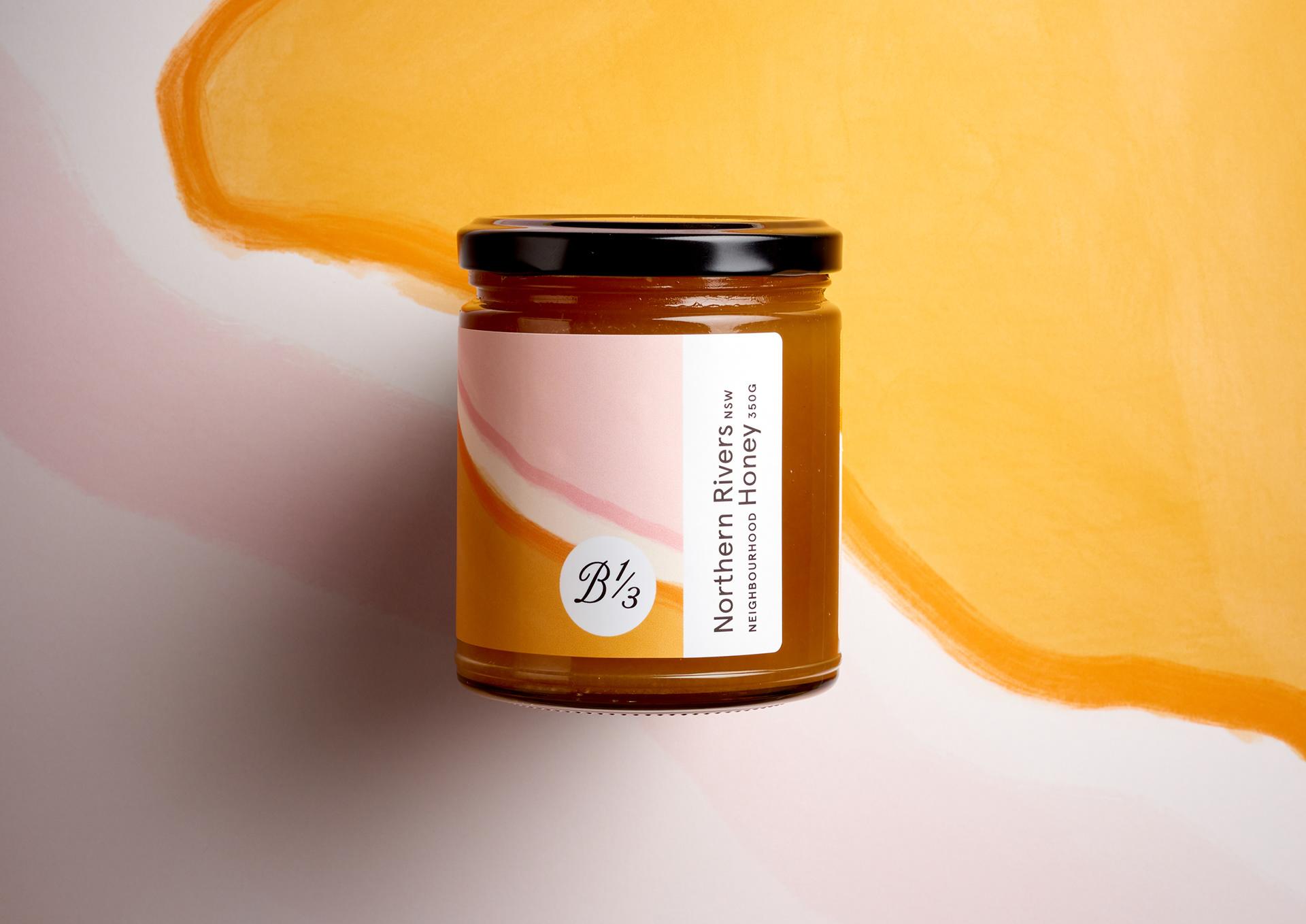 澳大利亚Bee One Third蜂蜜包装设计---酷图编号1282409