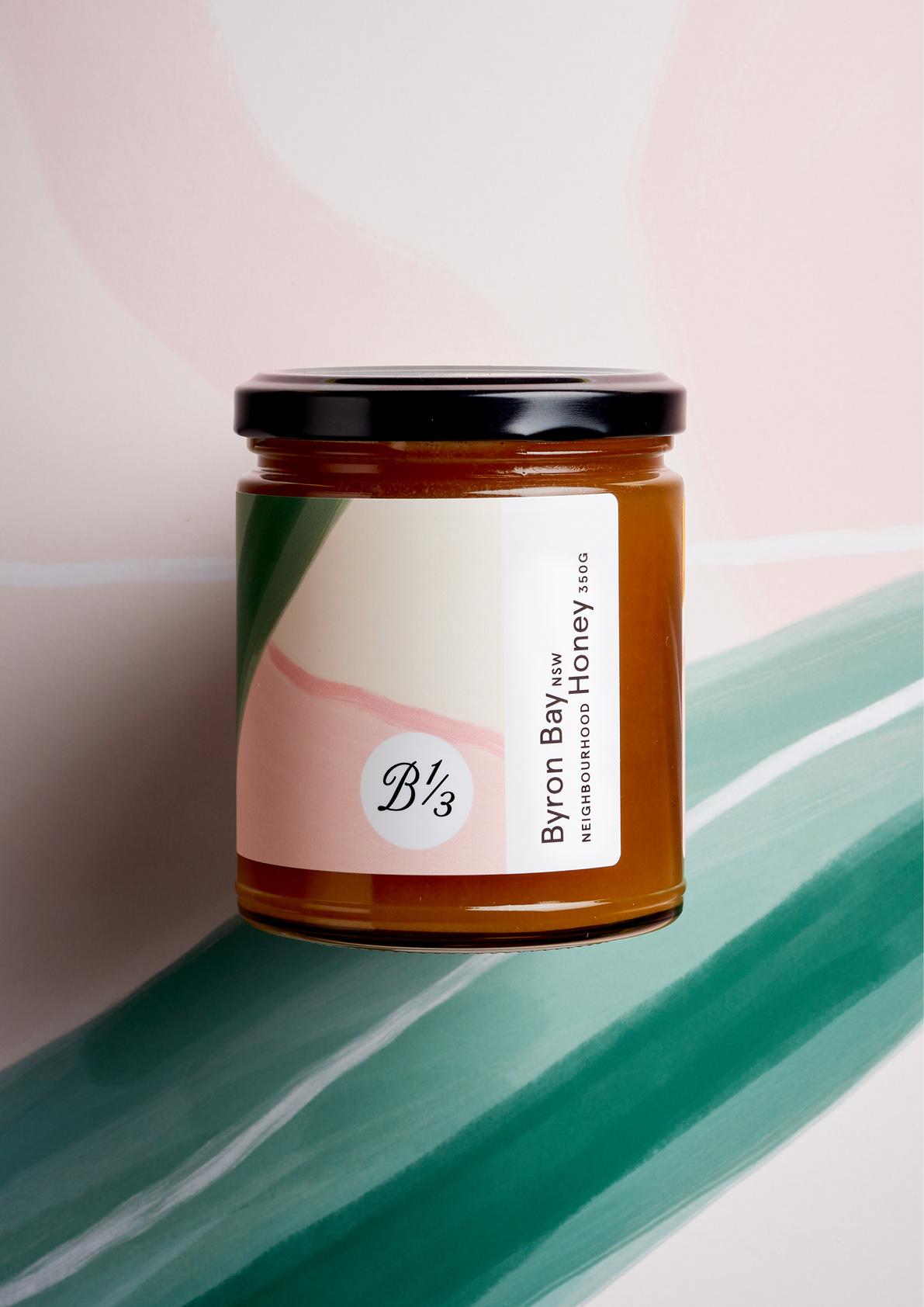 澳大利亚Bee One Third蜂蜜包装设计---酷图编号1282412