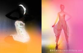 欧美绚丽运用色彩XXXRAY人物摄影欣赏
