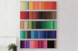 欧美芬理希梦的500彩色铅笔艺术摆设社会设计师