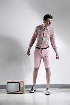 法国时尚俊男男士男人休闲服饰摄影欣赏