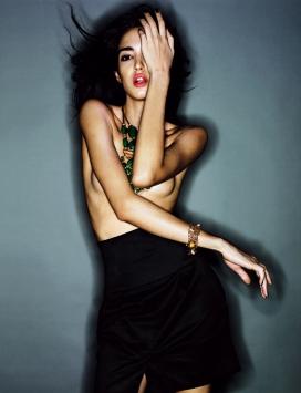 保加利亚elle beauty美诱大成熟美女造型摄影