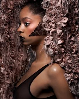 巴西WILD BLACK BEAUTY 野生黑美人人像摄影