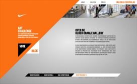 2010美国Nike - Bloed Oranje耐克网站截图与拍摄现场
