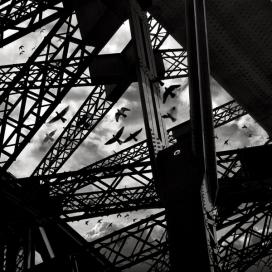 英国建筑摄影师:The Bridge高架桥黑白艺术摄影