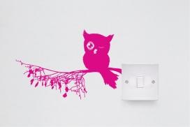国外vinyls electricity series乙烯电力插座插画系列
