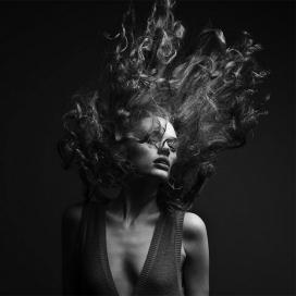 意大利Marc Laroche ― Hair漂亮的女性黑色头发
