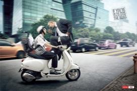 欧美Onida手机广告-开车请别接电话