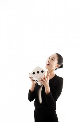 韩国职场商务女性图