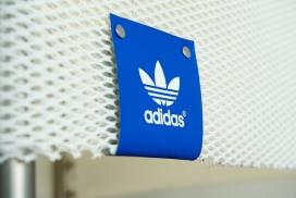 美国pop art adidas阿迪达斯波普店铺设计艺术