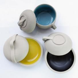 厨房的设计-巴黎设计师洛朗科里奥-搪瓷瓦罐水杯设计