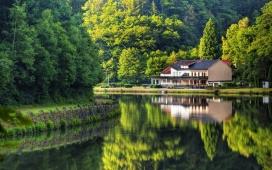 高清晰国外山水自然风景摄影壁纸