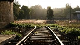 高清晰交通工具摄影-铁路