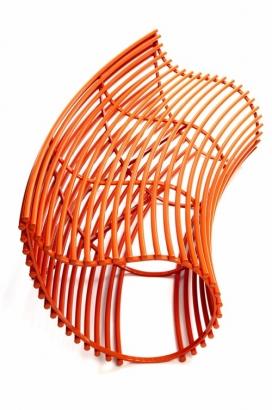 metalsmith亚历摩尔设计-雕塑作品功能座位椅子
