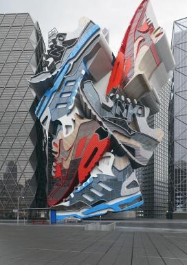 英国United Kingdom运动鞋构造建筑楼-鞋楼