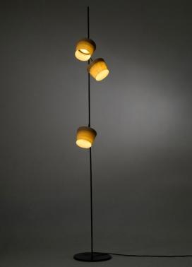 以色列特拉维夫设计师Nir Meiri-触觉成型灯