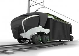 高效的铁路火车货车设计