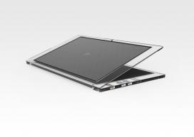 富士通2011设计奖-太阳能供电笔记本电脑