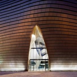 中国建筑师-戈壁沙漠远程博物馆的新形象