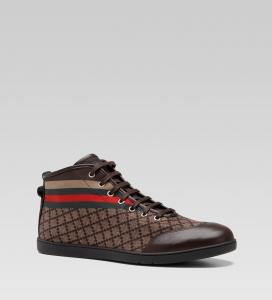 2012古琦男士休闲系带运动鞋图