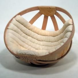 温馨沙发摇篮