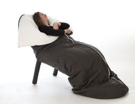 茧-法国设计师设计的睡袋椅子
