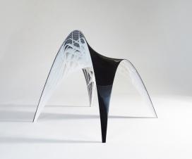荷兰阿姆斯特丹工业设计师Bram Geenen作品-Gaudi Chair & Stool凳子