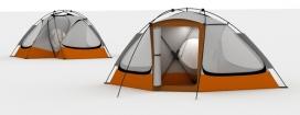 蒙古包帐篷设计-土耳其伊斯坦布尔工业设计师Can Guvenir作品