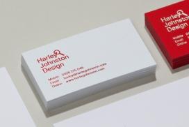 哈雷约翰斯顿-文具及名片网站设计-澳大利亚悉尼Harley Johnston设计师作品