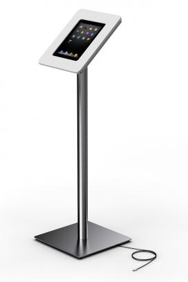 扭曲的iPad平板电脑展示台