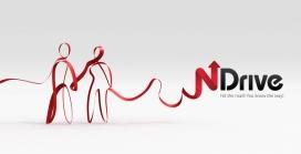 红绳-绸缎红节艺术-NDRIVE导航