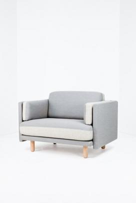 塞巴斯蒂安Herkner设计-沙发和椅子