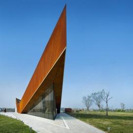 新加坡工作室设计-中国天津极尖展馆