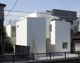 日本建筑师Aida作品-阿伊达东京工作室的房子