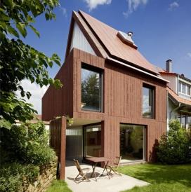 德国Finckh建筑事务作品-红色外斯图加特混凝土房子