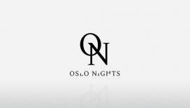 奥斯陆之夜-时尚博客品牌标识设计-挪威Fredrik Melby设计师作品