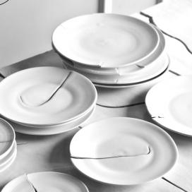 陶瓷撕裂艺术-陶艺家Robert Siegel-精美的手工瓷器