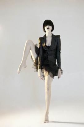 时尚塑料舞者-西班牙巴塞罗那Juan Cruz Duran摄影师作品